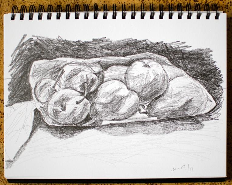 16 Jun 2013 Pears in a Bag