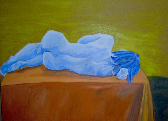 Blue Girl Circa 1995