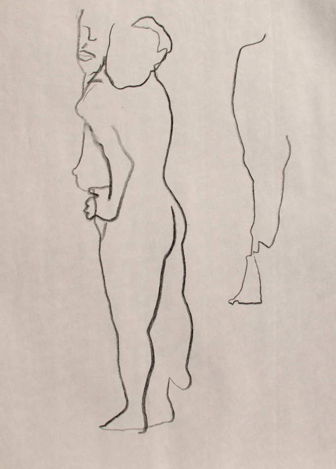 8 Oct 2013 Figure - Blind Contour Two
