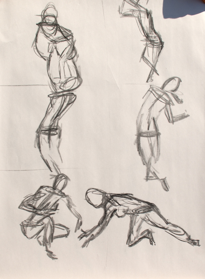 8 Oct 2013 Figure - Quick Sketches