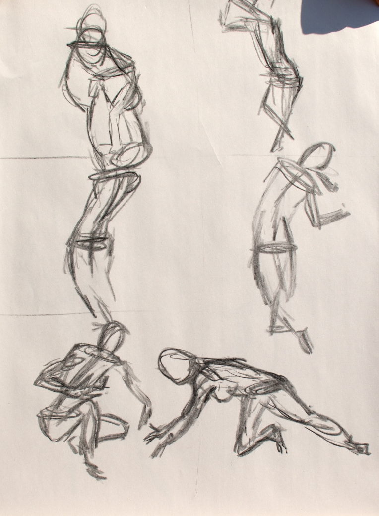 8 Oct 2013 Figure - Quick Sketches