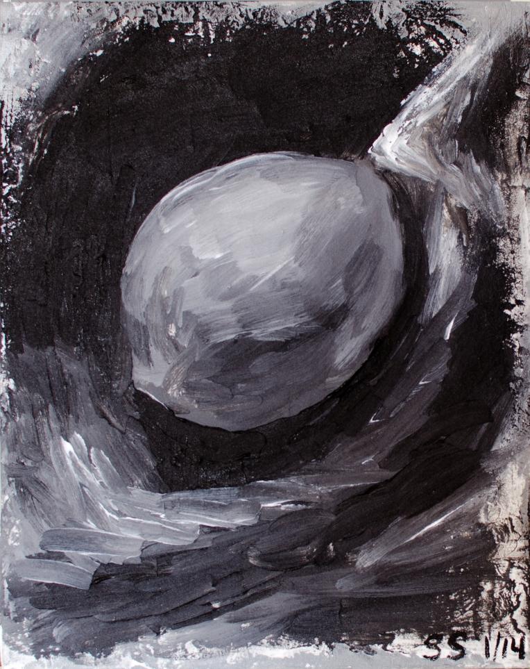 Sad B\W Lemon, Painterly