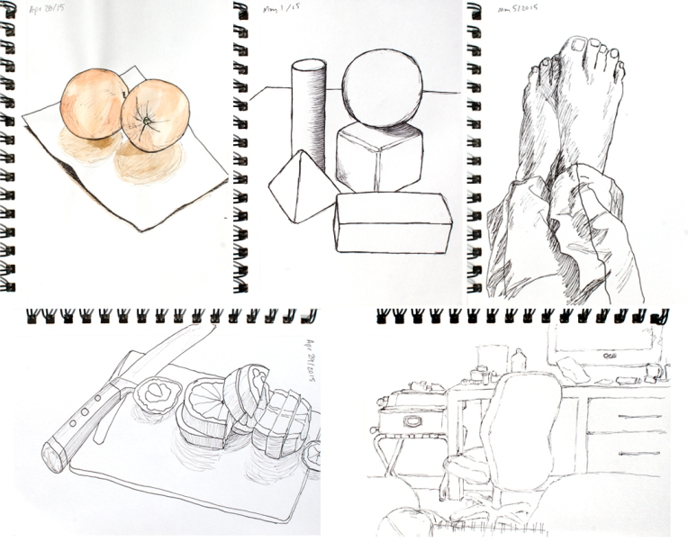 Recent Drawings May 10 2015