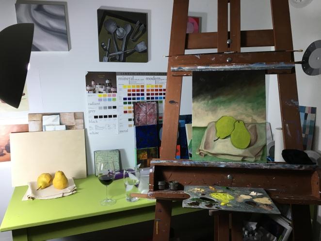 Reclaimed Pears Underway 2