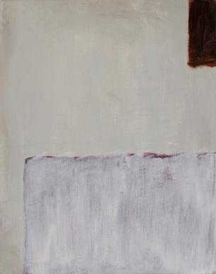 "Panel 1 WIP, Jan 1, 2017, Acrylic on Birch Panel, 11"" X 14"""
