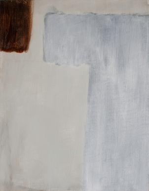 "Panel 3 WIP, Jan 1, 2017, Acrylic on Birch Panel, 11"" X 14"""