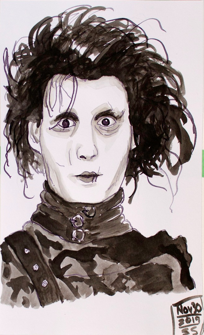 November 30, 2019, Edward Scissorhands