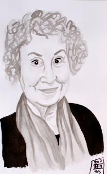 November 7, 2019, Margaret Atwood